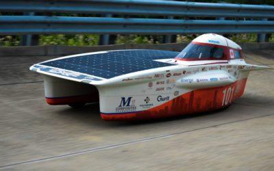 Usimm partenaire d'un véhicule solaire montréalais
