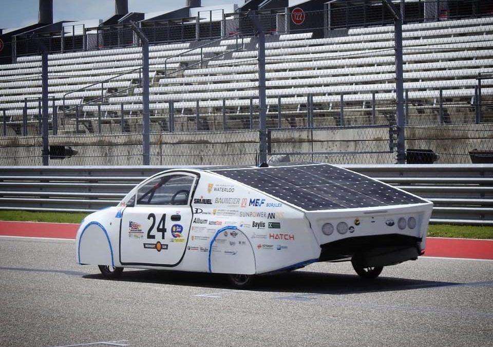 Les véhicules solaires propulsés par USIMM